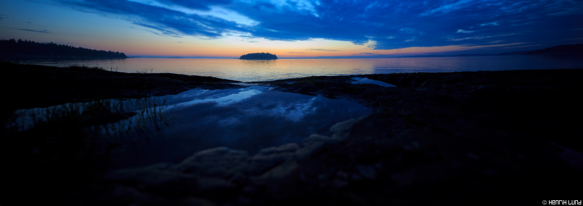 Nightless night - midsummernight. Bodö, Porvoo archipelago, Finland, June 2015.